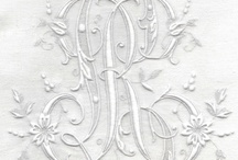 Monogram Inspiration / Always a monogram affecianado, I now have made it part of my life's work. Old and new, monograms continue to inspire me. / by Rarebits n Pieces