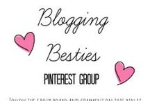 Blogging Besties / Group board for bloggers to share their newest posts! Pin other bloggers pins elsewhere to spread the love!  / by Sydney Brodie