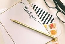 Sweet Stationery and Typography / by Nnenna Odeluga