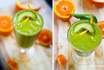 Smoothies For Energy and Healing / My favorite healthy smoothies that feature greens, fruits, superfoods, and healthy fats. / by Shelley Alexander