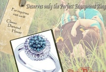 Trendy & Luscious Engagement Rings / by Classic Diamond House