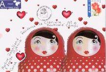 ♥ Куклы - МАТРЁШКА ♥ / by Catherine Aeschlimann