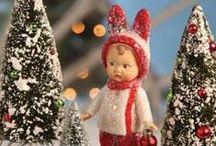 Un jour à Noël ☃ ☃ ☃  / Christmas'Art / by Catherine Aeschlimann