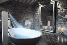 Bathroom & Indoor Water Features / Amazing bathrooms, indoor pools, hot tubs, steam rooms, showers