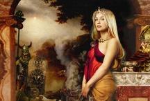 Fantasy Women / by Tana