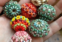 beaded beads / by Suzy