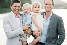 Men: Neil Patrick Harris ❤️ David Burtka / Gay Neil Patrick Harris Celebrity Famous Handsome Talented Actor Activist LGBT   David Burtka  / by Rob Grace