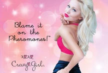 Crazy Girl / Be Daring...Be Seductive...Unleash Your Inner Crazy Girl! Crazy Girl offers a complete line of intimate body care infused with pheromones to give you sexy confidence. / by Classic Erotica