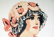 Cross Stitch of ladies/gents & such / Xs of ladies, gentlemen, children & etc.**If any of the patterns/graphs belong to you or are known to be infringing on copyrights, PLEASE let me know and I will happily delete them. It is not my intention to cause harm to anyone. / by Allyson Abu-Hajar
