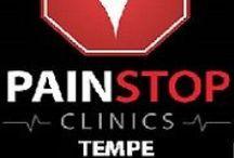 Pain Stop Tempe / 1001 E. Warner Road Suite #107 Tempe, Arizona 85284 (480) 897-3300 http://painstopclinics.com/pain-clinic-tempe http://dld.bz/PainStopTempe  / by Pain Stop Clinics