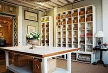 Workroom Ideas / by Cheryl Bradfute