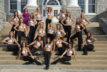 Center Stage / The Dukettes are the premier dancers of JMU, performing at football and basketball games as well as national competitions.  Send your pictures with the Dukettes to socialdukes@jmu.edu. / by JMUSports