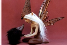 Art Dolls Fairy Pixies  / by Liesbeth Rinsma