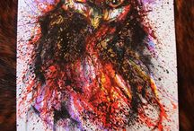 Owls / Photos, paintings, sculptures and drawings of owls! / by Lesley Hill