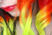 Colorful hair <3 / by Willow M.