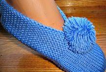 Crochet. Slippers  / by Julliett Diamond