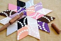 quilting and sewinng / ideas and tutorials / by Kate Todd