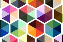 colors / patterns / by Marie Begovich