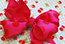 Crafts - hair bows and clips / by Angie Bartos