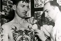 Tattoo Vintage Photos / They got inked when it wasn't trendy?.. Pure bad arsses / by C.B. Canga