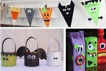 Manualidades de halloween para niños / by {Un dulce hogar}