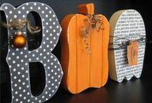 Decoraciones para Halloween / by {Un dulce hogar}