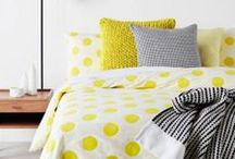 HOME : Bedtime / Beds,bedding,pillows, comforter, sheets, quilts / by Amy Ehmann // Design Lotus