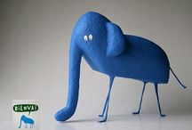 Illustration - 3D characters / by Laurie Keller