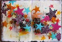 Art journaling, scrapbooking, cardmaking, paper art / by Sara Nordvall