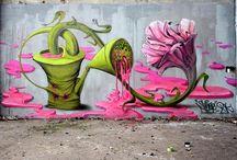 Street art / by Nikki Bonilla