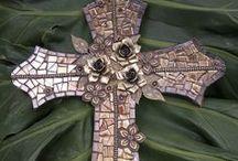 Beautiful Crosses ❤ / by Stephanie Tompkins