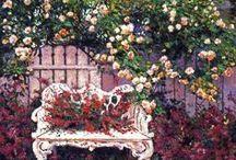 Art - Gardens / by Jenni Jordan