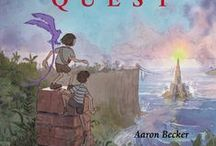 The JOURNEY continues with QUEST! / Aaron Becker, creator of Journey, a Caldecott Honor book, presents the next chapter in his stunning wordless fantasy. Publishing this month - August #journey #aaronbecker #quest #caldecott / by Candlewick Press Common Core Classroom