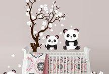 Little girl's room / Deco ideas for Maya's bedroom / by Jordane Mazenc