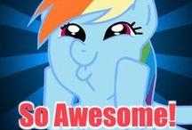 My Little Ponies / Friendship is Magic! / by Twi-Dash Sparkle