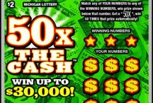 MI Lottery Instant Tickets! / Enjoy the large variety of Instant Ticket Games the Michigan Lottery has to offer you! / by Michigan Lottery