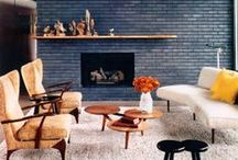 fireplaces / by marion p