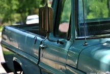Dream trucks / My love and obession with old trucks and old trucks that have been made new ❤ / by Abigail Sitter