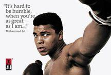 I Am the Greatest! - Ali / by Wanda Dillon