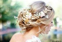 Wedding Hair Updos / by Gianna Walker