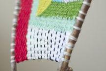 DIY weaving - macrame - weven  / by . Workshop Haarlem