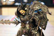 World of Warcraft, DC Unlimited / Sessão destinadas as figuras colecionáveis do universo World of Warcraft. Estes produtos são produzidos pela DC Unlimited e possuem incríveis detalhes de anatomia e figurino que os deixam fiéis aos personagens encontrados nas histórias de Warcraft. Cada figura de ação desta linha estão na escala de 7 polegadas, altura com mais ou menos 17cm, e são distribuídas em séries. / by WE ARE COLLECTORS