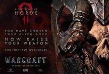 Warcraft Movie / Informações sobre o longa live action que tem previsão de estreia para 11 de março de 2016 e está sendo produzida pela parceria entre Legendary e Blizzard Entertainment. / by WE ARE COLLECTORS