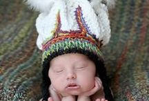 CROCHETED HATS / by shelia mills