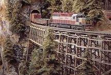 Model Railroading / by Dale Funk