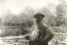 Claude Monet / 1840-1926. I have him in my art collection because he is famous.  / by JohnPaul Doerr