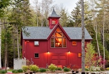 Cottage/Chalet: Exterior / by Curating Lovely