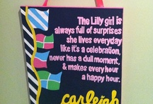 Sorority canvas/sign/saying / by Judy Raymer