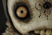 Creepy dolls / by joyce pettiford