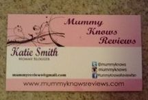 blog stuff / by Mummy Knows Reviews